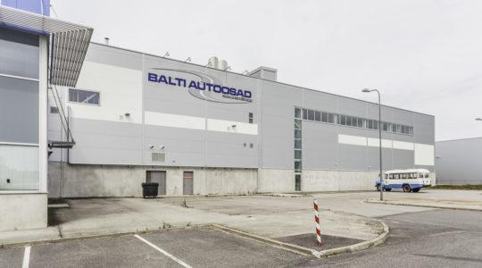 Balti Autoosad AS keskuse juurdeehitus