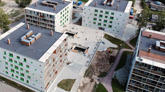 Sammu 6, 6a, 6b многоквартирные дома