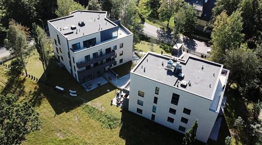 Joa 9 monolite constructions for multifloor apartments